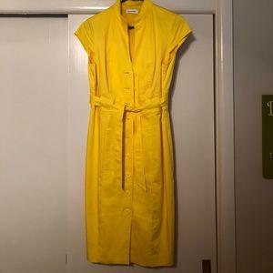 Calvin Klein cap sleeve dress